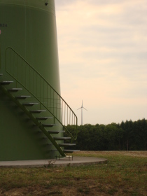 Treppe Windenergieanlage